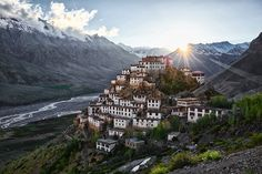 Kee Monastery (Kee Gompa) was build in the 11th century and certainly qualifies as the most amazing monastery I have seen in my life. Situated on a hill in the middle of beautiful Spiti Valley, this really is a place made for prayer and self reflection. More than 300 monks following tibetan buddhism live here. www.ivobergphotography.com  Photo by Ivo Berg