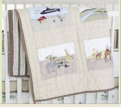 Whistle and Wink Adventure Nursery 613 3 piece Crib Set Whistle & Wink Nursery Bedding.  #Whistle&WinkNurseryBedding #BabyProduct