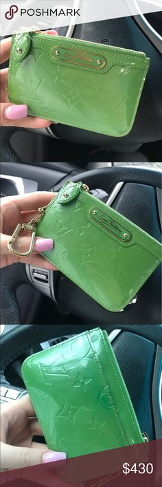 REAL Louis Vuitton wristlet. Authentic, never used. Bought but have no use for it. Absolutely beautiful for this spring !!! Louis Vuitton Bags Mini Bags