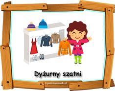 Dyżurny w przedszkolu - materiały do pobrania - Pastelowe Kredki Family Guy, Education, Fictional Characters, Art, Art Background, Kunst, Performing Arts, Onderwijs, Fantasy Characters