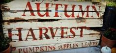 DIY Fall Sign....I just love this sign,.