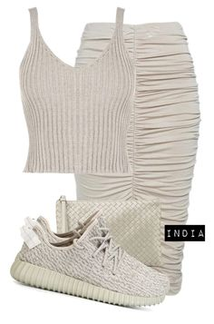 """""""Untitled #1617"""" by iysmnx ❤ liked on Polyvore featuring WearAll, Bottega Veneta and adidas Originals"""