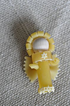 Pasta Angel Ornaments (pour celle qui brico-pâte !)