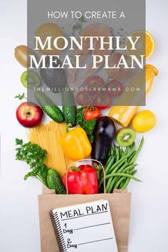 5 easy steps for successful monthly meal planning! When it comes to meal planning, there are countless benefits from financial to health! What Is For Dinner, Pumpkin Chili, Monthly Meal Planning, Kodiak Cakes, Dinner Themes, Healthy Lifestyle Tips, Living A Healthy Life, Eat Right, Quick Meals