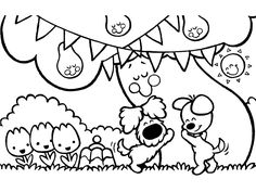 Legendary Coloring web page Print Woezel and Pip - Coloring Pages - Friseur Engin KILIC Coloring Books, Coloring Pages, Colouring, Diy And Crafts, Crafts For Kids, Get The Party Started, Good Company, Girly Things, Embroidery Patterns