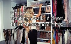 literally when people have this and are like I HAVE NO CLOTHES/SPACE and I am like...my closet is the size of your coat closet