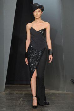 Donna Karan sexy dress 2012 fall