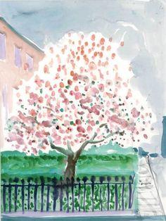 ALONGTIMEALONE: dionyssos: David Hockney British Magnolia ,...
