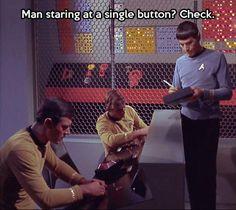 Only in Star Trek