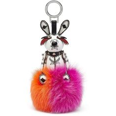 MCM Rabbit Pom Pom Keyring ( 465) ❤ liked on Polyvore featuring bags,  handbags 3161e6f048