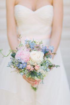 Romantic + Light Maples Hall Wedding  Read more