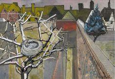 """""""The Artist's Garden in Winter"""" by Edward Bawden,1948"""
