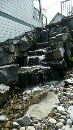 2012-04-15 Gig Harbor waterfall by Ken Rury