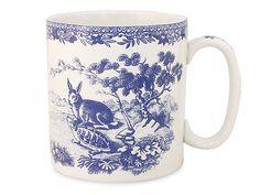Spode - Blue Room Collection Mug Aesop's Fables   Peter's of Kensington