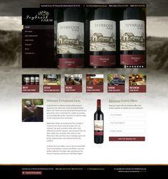 We design for IvyBrook Farms Portfolio Web Design, Fine Wine, Farms, Homesteads, Farm Houses