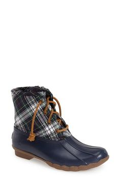 Sperry 'Saltwater' Waterproof Rain Boot (Women) available at #Nordstrom