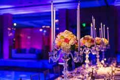 Classic Centerpieces, Wedding Flowers Photos by Party Petals