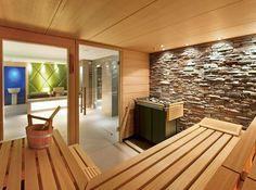 Der Saunabereich im Sporthotel Schweizerhof, Österreich