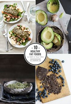 10 Healthy Fats to Add to Your Diet | http://hellonatural.co/8-healthy-fats-to-add-to-your-diet/