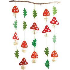 Sachenmacher Filzfädelei Pilze JAKO-O Sachmacher Felt Threading Mushrooms Mobile Home Decorating, Woodland Creatures, Colorful Drawings, Felt Crafts, Handicraft, Diy Tutorial, Wool Felt, Craft Supplies, Kindergarten