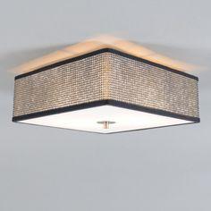 Deckenleuchte Drum 35 quadratisch Diamant: Ein echtes Highlight an Ihrer Decke ist diese quadratische Designer-Deckenleuchte! #deckenleuchte #innenbeleuchtung #glitzer #festlich