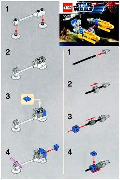 Star Wars - Anakins POD Racer [Lego 30057]