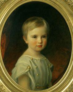 Josef Neugebauer (1810 – 1895, Austrian) Rudolf, Crown Prince of Austria, As A Child