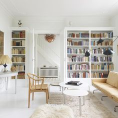 Scandi style. See 16 of the most beautiful rooms from Sweden, Denmark, Norway and Finland on #TheStudy. Link in bio!
