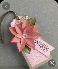 So let's use the new Festive Flower Builder Punch and the stamp set, Reason for the Season, as they are intended today and see what happens. Wouldn't t Noel Christmas, Christmas Paper, Christmas Gift Tags, Holiday Cards, Christmas Crafts, Stampin Up Weihnachten, Handmade Gift Tags, Paper Tags, Card Tags