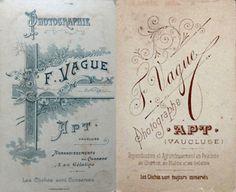VAGUE F. (1 et 2) - Apt, Vaucluse