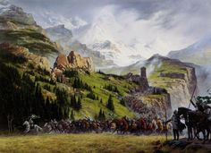 Riders of Rohan by Ted Naismith