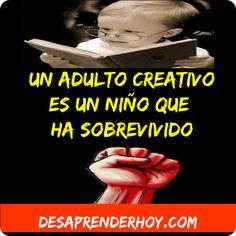 Un adulto creativo es :