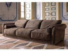 3 seater fabric sofa PAUL | Sofa by Longhi