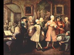 A Rake's Progress: The Rake's Levee by William Hogarth Sir John Soane's Museum (London, UK) William Hogarth, Oboe, Sebastian Bach, Renaissance, European Costumes, Ballet, Classical Music, Art History, British History