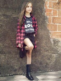 5228e5da1 Moda Pré-adolescente, Moda De Criança, Moda Para Crianças, Foto De Roupas