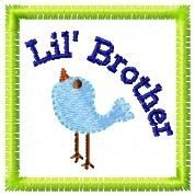 FREE! Lil Brother and Lil Sis | FREE | Machine Embroidery Designs | SWAKembroidery.com Oma's Place