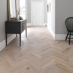Herringbone Laminate Flooring, Faux Wood Flooring, Wood Look Tile Floor, Wood Floor Design, Oak Parquet Flooring, Herringbone Wood Floor, Hallway Flooring, Wood Tile Floors, Engineered Wood Floors