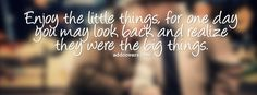 Enjoy the little things {Life Quotes Facebook Timeline Cover Picture, Life Quotes Facebook Timeline image free, Life Quotes Facebook Timeline Banner}