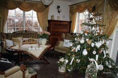 świąteczny salon