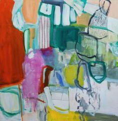 """Saatchi Art Artist Autumn Rose; Painting, """"Monkey Bars"""" #art"""