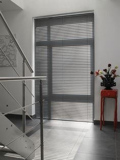 LUXAFLEX® Aluminium Venetian Blinds s range from 16mm Micro to 25mm Slimline and 50mm Classic slat widths.