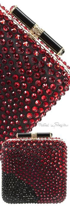 Rosamaria G Frangini | Burgundy Desire | BlackOrchidClub | Jeweled clutch.