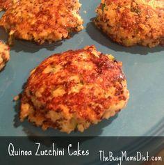 Quinoa Zucchini Cakes: Vegetarian Recipe #vegetarian #lent