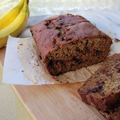 Rumbly In My Tumbly: Cinnamon Swirl Banana Bread - Mind BLOWN.