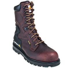 Carhartt Boots CMW8239 Mens Steel Toe Insulated EH Waterproof Work Boots