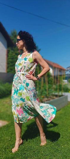 Letné dámske šaty Rita / ajkadizajn - SAShE.sk