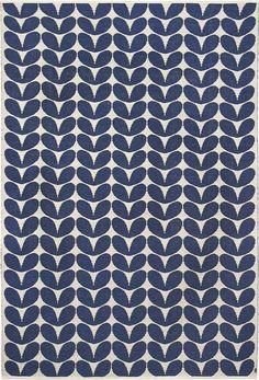 Wool rug Karin Indigo by Brita Sweden
