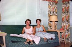 Living Room: 1953--one of the wonders about life in the late 40's 5o's and early 60's was the sameness of it.  All across the country we remembered the same things..., the same receipt forms at the restaurants seriously--you hit one button and everyone is saying I remember. d