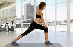 Lunges - 6 Po-Übungen für den knackigen Hintern - gofeminin