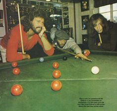 Bee Gees - They loved to play pool...